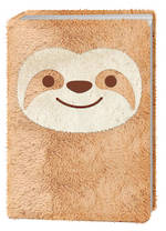 Happy Zoo Plush Notebook Sloth