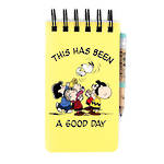 Peanuts A6 Reporter Notebook