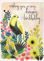 Claire Picard Birthday Yellow Bird