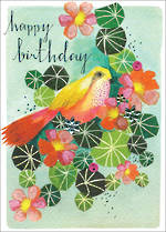 Claire Picard Birthday Bird Leaves