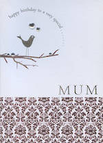 Mum Birthday Card Moonbeam Special Mum