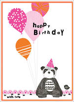 Party Popper Birthday Panda