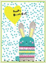 Party Popper Birthday Bunny