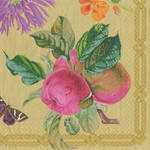 Lunch Napkins Caspari Decoupage Gold