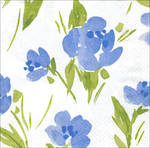 Lunch Napkins Caspari Garden Party Blue