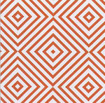 Sheet Wrap Chevron Coral