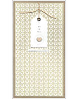 Wedding Card Simply Tags Mr & Mrs