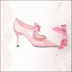 Blank Card: Fashion - Pink Shoe