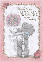 Grandmother Birthday Card: Me To You Especially For You Nanna
