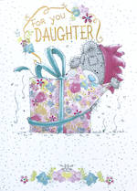 Daughter Birthday Card: Me To You Pink Present