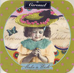 Blank Card: Carousel - Make A Wish