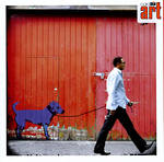 Blank Card: Graffiti - Walking The Dog