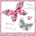 Stephanie Rose Floral Butterflies