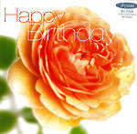 Female Birthday Card: Fab Flowers Orange Rose