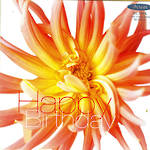 Female Birthday Card: Fab Flowers Orange Lily
