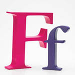 AlphaArt: Fuschia Capital F