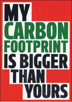 Dean Morris Rude My Carbon Footprint Is