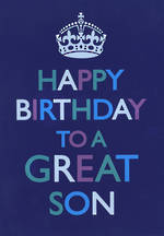 Son Birthday Card: In The Spirit Great