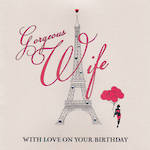 Wife Birthday Card Belle De Noir Gorgeous