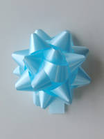 Bow Poly Blue 15mm