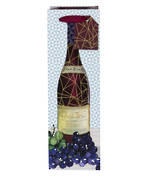 Bottle Gift Bag Pizazz Men Wine