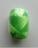 Ribbon Poly Egg Blister-Pack Green 20m