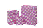 Medium Gift Bag General Spotty Pink
