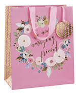 Large Gift Bag Female Dyment Pink