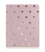Shimmer Accents Blush A6 Notebook