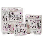 Small Gift Bag Female Birthday Girl