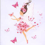 Mini Card Pizazz Fairy & Butterflies