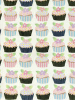 Sheet Wrap Gold Cupcakes WJB