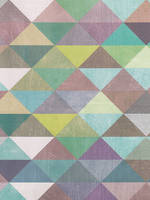 Sheet Wrap Multi Colour Triangles
