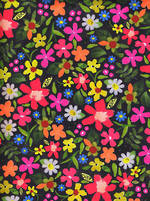 Sheet Wrap Bright Floral
