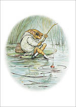 Beatrix Potter Jeremy Fisher