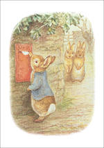 Beatrix Potter Mail Box