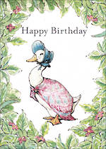 Beatrix Potter Birthday Duck
