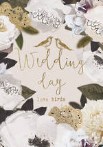 Wedding Card Botanicals