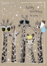 Fancy Pants Birthday Giraffes