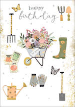 Gold Leaf Birthday Gardening