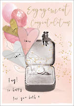 Engagement Card Love Letters