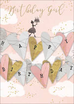 Love Letters Birthday Girl Hearts