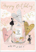Love Letters Birthday Jar of Love