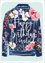 Meadow Birthday Denim Jacket