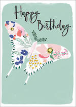 Meadow Birthday Butterfly
