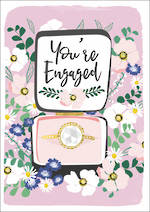 Engagement Card Meadow Ring