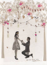 Engagement Card Privee Kneeling