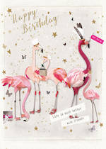 Privee Party Flamingoes