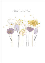Sympathy Card Thinking Of You Shimmer