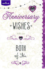 Anniversary Card Your Hallmark Large Tipon Heart